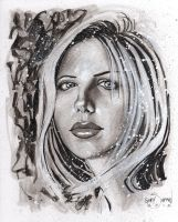 Buffy the Slayer Sarah Michelle Gellar by G-Ship