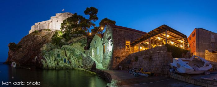Night in Dubrovnik by ivancoric