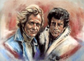 Starsky And Hutch by astarvinartist