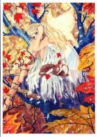 Autumn Fairy by Ziano-rein