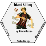 Giant Killing Icon for Windows by PrimaRoxas
