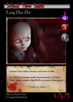 School Time Sadie TCG Concept by bakerofish