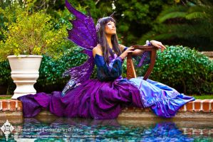 The Indigo Masquerade Fairy by Lillyxandra