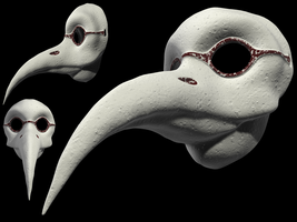 Plague Doctor Mask by j-west
