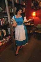 Belle in Bookshop 4 by rogue452