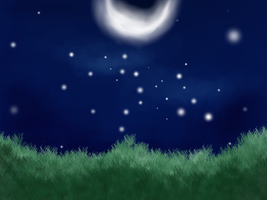 Moonlit Night by Tamway-Doyle