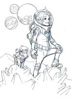 SPACE GIRL by Wieringo