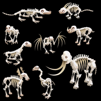 Spore Skeletons by pokequaza