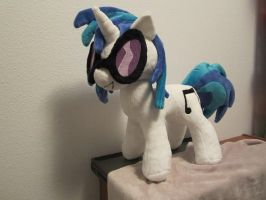 Dj Pon3 Vinyl scratch plush by Little-Broy-Peep