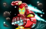 Iron Man by allfortes