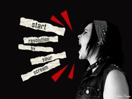 start revolution by VictoriaMorphine