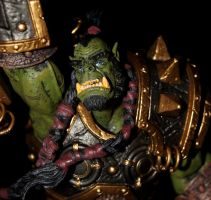 ORC WARCHIEF: THRALL_3 by Tendranor