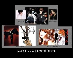 Gackt does Death Note by midori711c