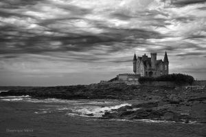 Castle of the Sea by dominique-merot