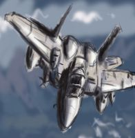 Air Force Jet by Kata