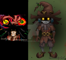 Skull Kid --Contest Entry by Anilede