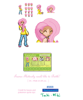 Trainer Fluttershy by 0RCV0
