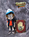 Dipper Pines Plush by Skeleion