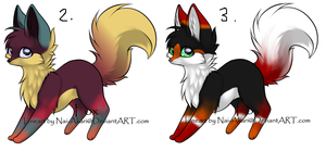 Fox Palette Adopts - For Vince-san13 by Twine-Adopts