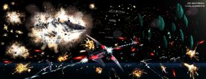 The Battle of the Chig Homeworld by Colourbrand