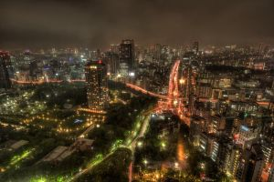 Tokyo Tower View by Kaboose-18