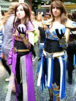 League of Legends cosplayers - with orbs by semi-surreal
