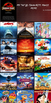 My Top 20 Favorite Movies by JPLover764