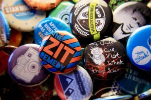 Pinback Buttons by Lydia-distracted