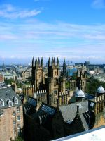 Cityimpression Edinburgh 02 by Fea-Fanuilos-Stock