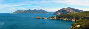 Tasmania Panorama #1 by Fueled-By-Freedom