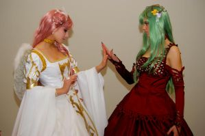 Euphemia and C.C. by MrsGnob