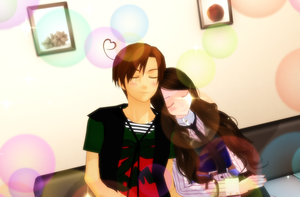 MMD Romano and (oc) Pennsylvania quite time by asksPennsylvania
