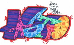 Graffiti: AsTro by BryanChalas