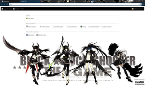 Black Rock Shooter 2 CRX by Kaza-SOU