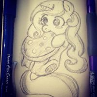 MLP: OC Pony - Cookie Swirls by mscherbear