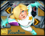 Commission: Rosalina in space by kinga-saiyans