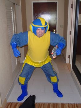 Bad Box Art Mega Man Cosplay - Otakon 2012 by LBDNytetrayn