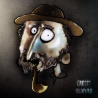 Creepy Oldman by AndroniX