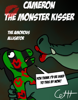 The Amorous Alligator by microdude87