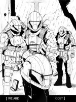 We Are ODST by RedSkittlez-DA
