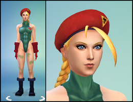 The Sims 4: Cammy White by Tx-Slade-xT