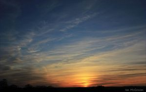 Harefield sunset . by 999999999a