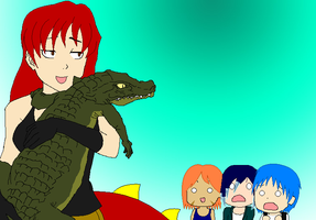 BASE-Scaly Pals Collab by ThunderWolfang