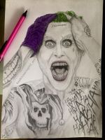 Jared Leto as Joker by aadityasingh92