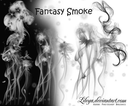 Fantasy Smoke by Lileya