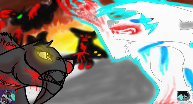 Lightning vs Venom| Collab with Silix by ButteryWalrus
