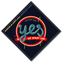 """YES WE +SPRAY+ CAN"" sticker by ALilZeker"