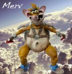 Merv - The Great Flying Mouse by SomethingGerman