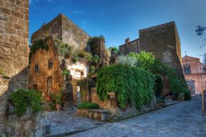 Streets of Bagnoregio by roman-gp