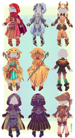 :Comm: Outfits for Oscorix by BlackMayo